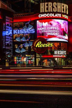 Hershey's Chocolate World -  New York, New York Las Vegas, Nevada| Flickr - Photo Sharing!