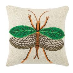 Leave Insect Pillow