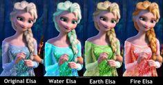 All my Elsas.