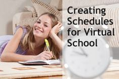 """Learning Coach Secrets: Creating Learning Schedules for Virtual School"" from Connections Academy online school. Pin to Prepare—Create a Pinboard of ""Cool Tools for Online School"" for a Chance to Win! #onlinelearning #schoolday #onlineschool"