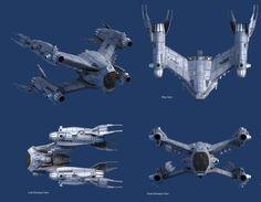 Babylon 5 art by our friend Adam Burch.  Babylon 5 Starfury Concepts based on drawings by Steve Burg.          Keywords: babylon 5 star fury...