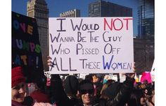 25 Hilarious Protest Signs Made By Hilarious Women (Slide #44) - Offbeat