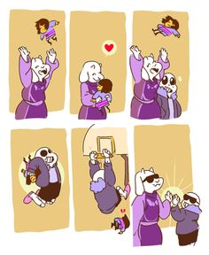 undertale, sans, and toriel image Undertale Toriel, Undertale Comic Funny, Undertale Memes, Undertale Fanart, Undertale Ships, Sans And Toriel, Sans Puns, Mini Comic, Toby Fox