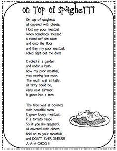 jack prelutsky poems to print Rhyming Poems For Kids, Funny Poems For Kids, Preschool Poems, Poems For Children, Funny Rhymes For Kids, Songs For Kids, Fun Poems, Silly Poems, Kids Rhymes