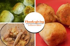 Thanksgiving Leftover Bites. Turn your Thanksgiving leftovers into a delicious appetizer that you can freeze for holiday parties or enjoy as a snack.