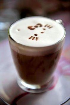 Hello Kitty Coffee latte