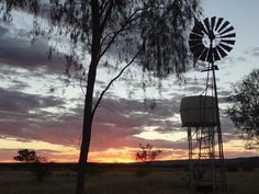 Windmill at Dyas Homestead at Einasleigh  Photo by Gordon Rogerson