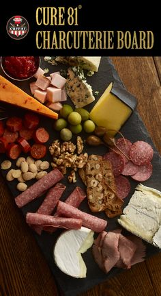 CURE 81® Charcuterie Plate | A fruit and cheese plate perfect for your Easter meal | Easter Ideas | Easy Easter Recipes