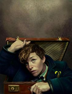 Newt by NessDoomedZombie on DeviantArt - Fantastic Beasts and where to find them - Animales Harry Potter Animé, Fans D'harry Potter, Images Harry Potter, Harry Potter Universal, Hogwarts, Film Anime, Manga Anime, Model Tips, Fangirl
