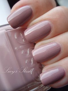 Lady like. Pink neutral. One of the easiest of Essie's peer sheers to apply, no streaks!