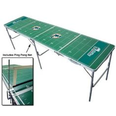 Miami Dolphins Portable NFL Tailgate Beer Pong Table - 8 Foot (Misc.)#Unbeliveablepepsinextparty.