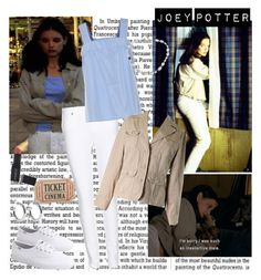 Joey Potter - Outfit Inspiration - Season 1 by vilena-ferreira on Polyvore featuring moda, TIBI, Sonoma life + style, Paige Denim, Keds, Sophie Buhai, NOVICA, Smashbox and Levtex