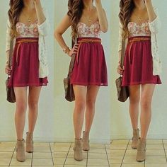 First day of school or on a date this outfit is perfect