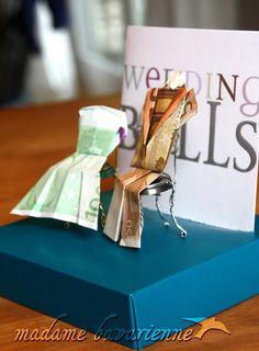 Originelles Geldgeschenk für eine Hochzeit! Das merke ich mir