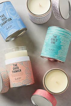#anthrofave: Gifts: Candles, Candleholders, and Jewelry Storage
