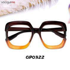 fca83d0b14be Esther Rectangle Tawny Eyeglasses GP0322-02
