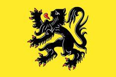Flag of Flanders (Belgium)