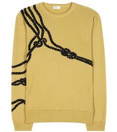 DRIES VAN NOTEN Embellished sweatshirt. #driesvannoten #cloth #shirt