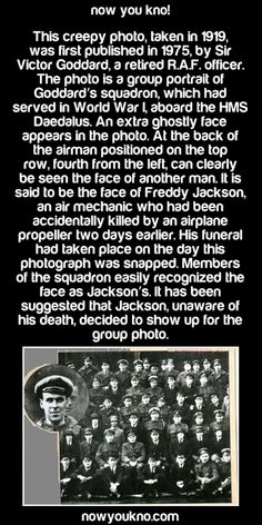 Showing up for the group photo Creepy Facts, Wtf Fun Facts, True Facts, Creepy Things, Creepy Stuff, Silly Things, Random Facts, Random Things, Creepy Stories