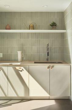 The Commune: Office Kitchen Inspiration Design, Interior Inspiration, Fireclay Tile, Handmade Tiles, Style Tile, Interior Design Kitchen, Kitchen Backsplash, Home Kitchens, Kitchen Remodel