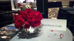 We love a simple arrangement of roses!