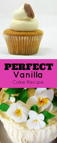 Looking for a no fail vanilla cake recipe, that is quick and easy, inexpensive, which tastes amazing and if you have a cake business - customers love! Easy Cake Recipes, Cupcake Recipes, Cupcake Cakes, Cupcake Flavors, Pastry Recipes, Frosting Recipes, Cake Cookies, Perfect Vanilla Cake Recipe, Cake Works