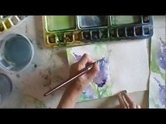 Using Watercolor to Its Full Potential: Exploring Fluid Painting Techniques… Art Tutorials Watercolor, Painting Tutorial, Art Lessons, Learn To Paint, Pastel Art, Art Instructions, Oil Painting Abstract, Watercolor Lessons, Painting Tips
