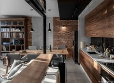 45 ideas for house interior kitchen exposed brick