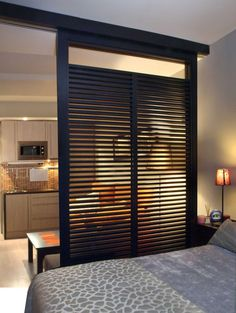 Small Studio Apartment Decorating Ideas Photos Great Room Divider for a Studio A. - Small Studio Apartment Decorating Ideas Photos Great Room Divider for a Studio Apartment - House Design, Apartment Decor, Small Apartment Design, Small Spaces, Home, Small Apartment Decorating, Great Rooms, Small Studio Apartment Decorating, Small Room Design