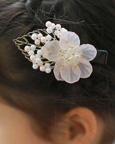 한복핀(HANBOK HAIR ACC) Wire Jewelry, Beaded Jewelry, Korean Traditional, Wire Art, Bridal Headpieces, Bead Art, Fashion History, Hair Band, Bobby Pins