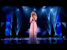 This is a perofmance of Celine where she becomes really emotional... God bless her!