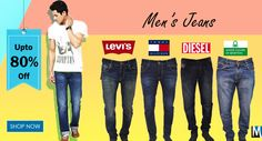 A Complete collection of Branded #jeans for Men's online