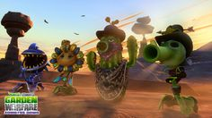 Plants vs. Zombies: Garden Warfare free wild west-themed Zomboss Down DLC pack now available