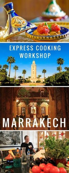 Marrakech Express Cooking Workshop at La Maison Arabe in Morocco - a great 1 hour lesson in the medina for those who don't have time for the half day workshop also offered by the hotel.