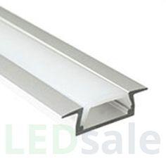 047 Build in LED Aluminum Profile - Klar