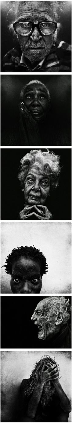Stunning New Photographic Portraits by Leff Jeffries