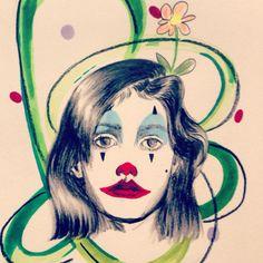 Clown Art, Kunst, Art Education, Artworks