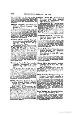 danville mocksville the biographical directory of the railway officials of america google books
