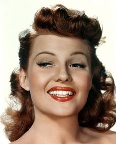 Classic Pinup Girl, Rita Hayworth.