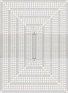 A Beaut Oval Rug [Free Crochet Pattern and Video Tutorial] Filet Crochet, Crochet Quilt, Crochet Blocks, Crochet Tablecloth, Crochet Diagram, Tapestry Crochet, Crochet Squares, Crochet Home, Love Crochet
