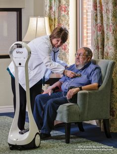 Vecna | High-Tech House Call | Vecna Diy Robot, Tech House, Elderly Care, Science And Technology, Cyberpunk, Robots, Computers, Innovation, Future