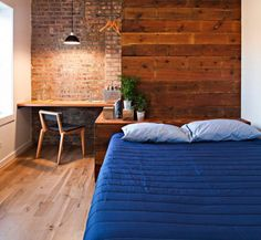 Longman & Eagle Hotel in Chicago $95  night 20 Tiny Hotel Rooms That Nailed the Whole Small Space Trend via Brit + Co