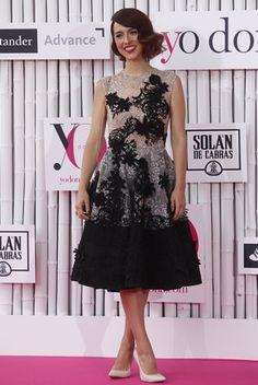 YolanCris | La actriz Cristina Brondo con el vestido de fiesta #1487 de YolanCris en los premios Yo Dona