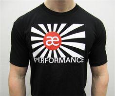 AE Performance Tee ~Black Japan Tee