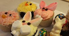 Easter cupcake tutorials, so cute and easy