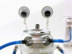 DIY aluminum can robot