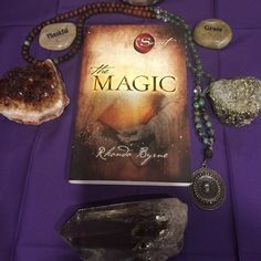 """#40DaysOfGratitude- I went back to one of my favorite books on gratitude: """"The Magic"""" by Rhonda Byrne.  Immediately in the book she discusses ancient knowledge that held the key to living a life drenched with abundance & prosperity. This wisdom was found in pretty much all sacred texts but specifically the Bible.  The very simple idea written in this text was seemingly hidden mystified and caused lots of confusion due to the cryptic nature in which it was written. But it all boiled down to…"""