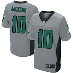 Men Nike Philadelphia Eagles  10 DeSean Jackson Limited  Grey Shadow NFL  Jersey d0c0511a0