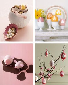 easter is coming.. I like the egg as 'cherry blossom' one...