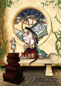 Alice's Toy Theatre by Mister Whiskers